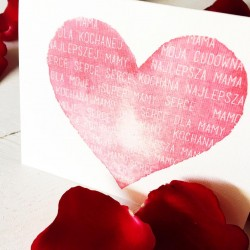 Kartka dla kochanej mamy kartka mama dzienmamy lovely lovesimple lovesimplecreations